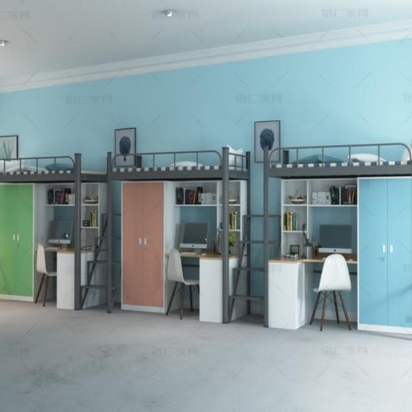 广东学生宿舍床学生宿舍公寓床质量保障 康胜家具专业定制