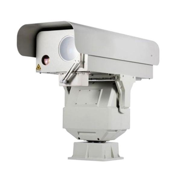远监控监控双光谱可见光+激光60倍光学防抖云台摄像机