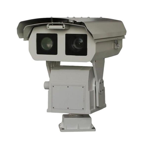 深圳市激光可见光防抖云台摄像机_双光谱60倍光学防抖