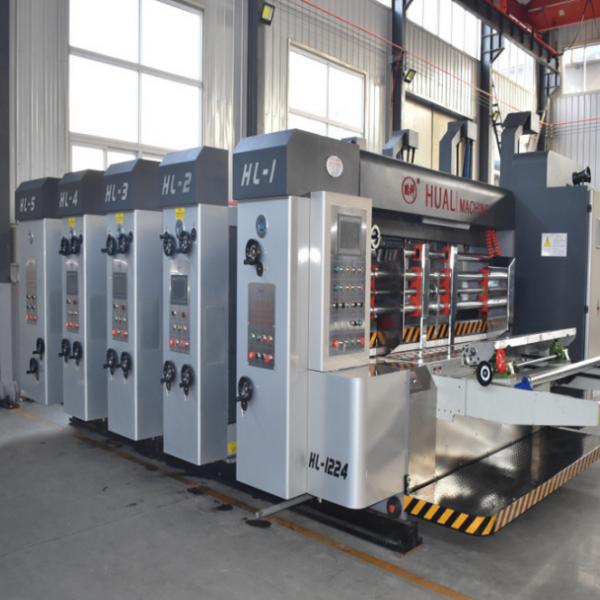 做纸箱的全套机器 全自动半自动纸箱印刷开槽粘箱钉箱机
