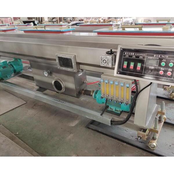 管材扩口机PE高速管材生产线牵引机原装现货