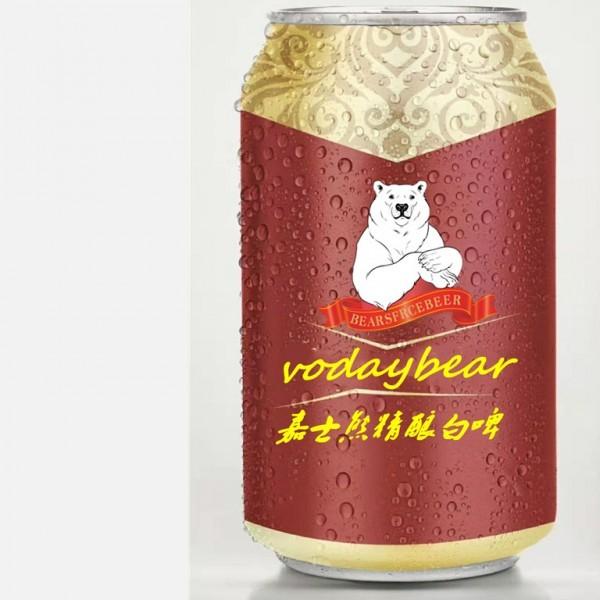 嘉士熊啤酒vodaybear精酿白啤