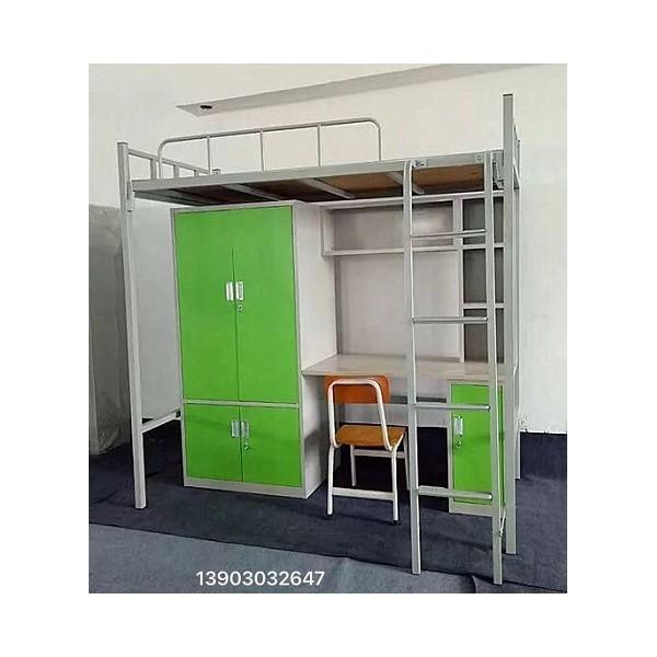 东莞康胜学生组合床宿舍公寓床职员高低床工厂批发供应