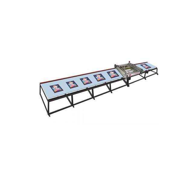SPT系列直线台版丝网印刷机雨伞布丝印机