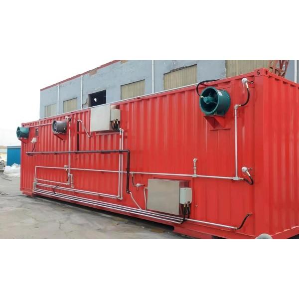 消防集装箱真火模拟训练系统 特种集装箱定制厂家