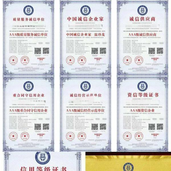 枣庄市哪里可以申请3A信用等级保护,申请的费用是