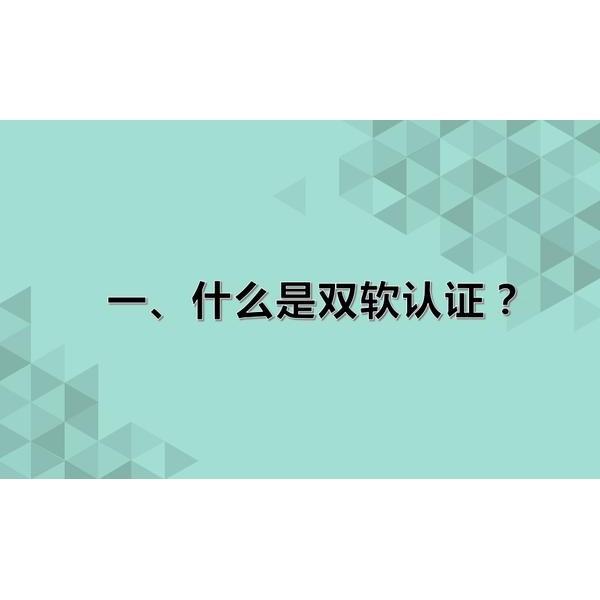 潍坊市双软认证申请流程