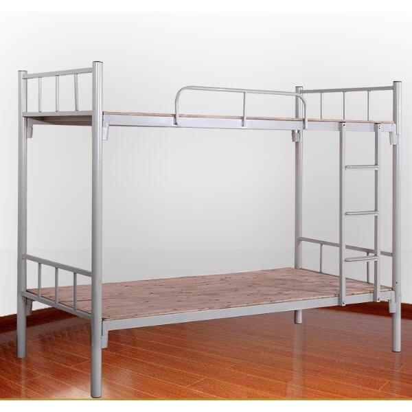 惠州宿舍双层床上下铺铁架床学生宿舍床职员高低床工厂定制供应