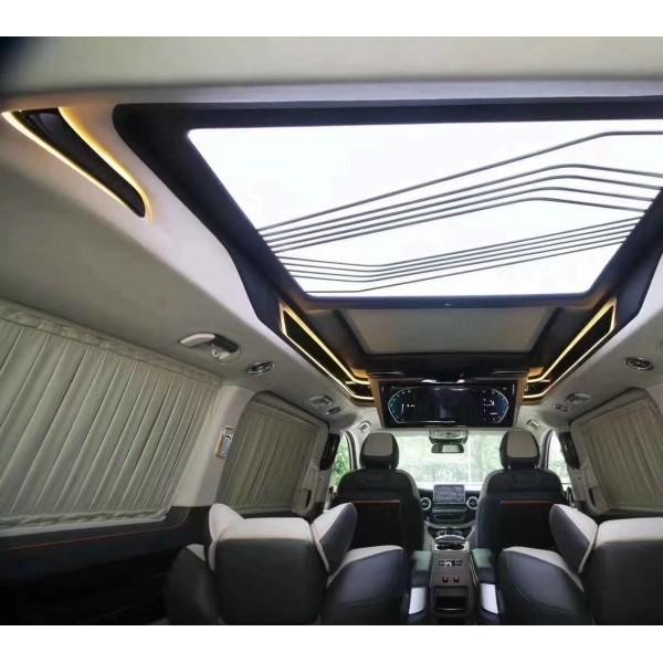 奔驰威霆/V260高端定制 整车设计 内外饰一站车改装
