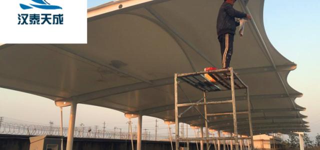 监利遮阳棚公司 膜结构维修 监利充电桩膜结构建造