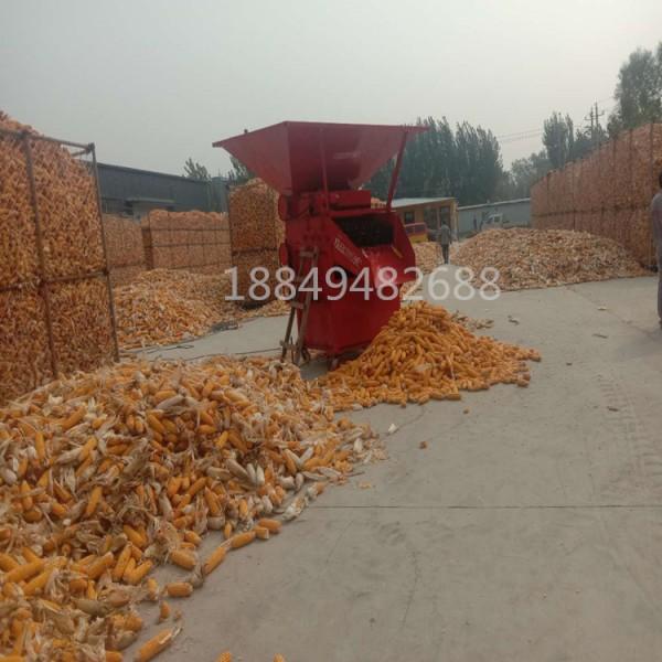 2021新型玉米剥皮机 铲车上料玉米扒皮机 玉米剥皮上垛机