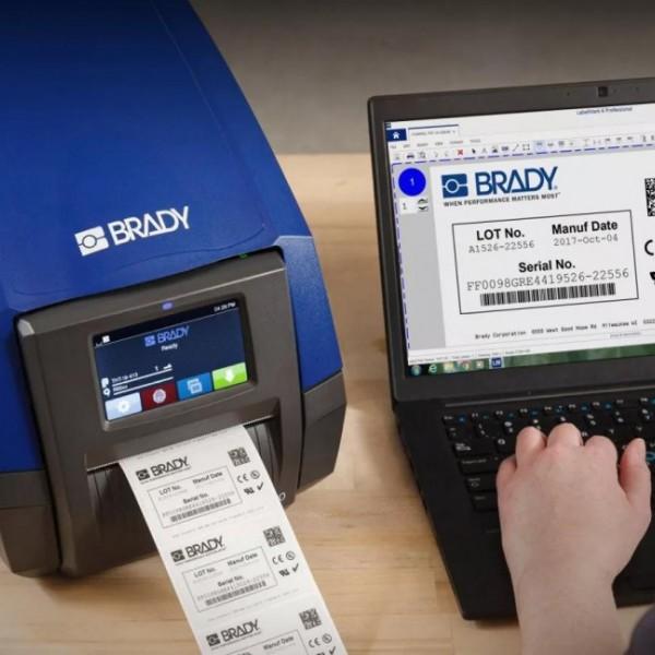 贝迪i5100实验室低温冷冻标签台式智能打印机