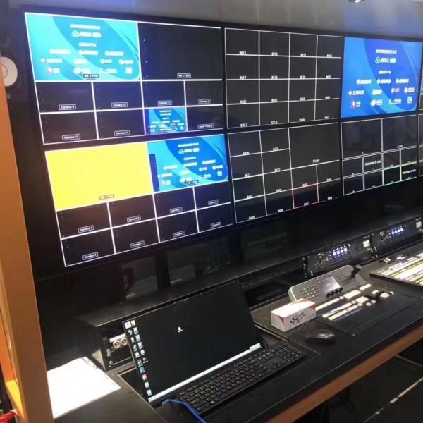28寸4K转播车监视器 32寸演播厅42寸直播车拼接显示器