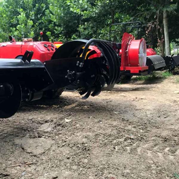 新式四驱微耕机自走式旋耕小型柴油开沟松土耕地手扶拖拉机多功能