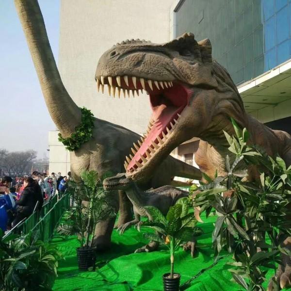 暖场道具推荐恐龙展出租 侏罗纪恐龙租赁