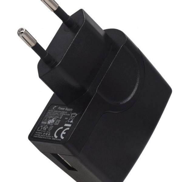 6W系列欧规CE插墙式USB小型电源适配器