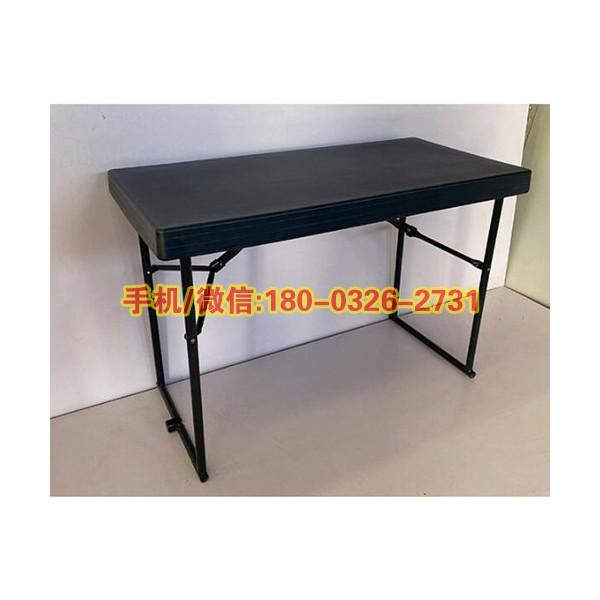 野营训练折叠长桌便携式户外训练指挥桌吹塑野外指挥桌折叠会议桌