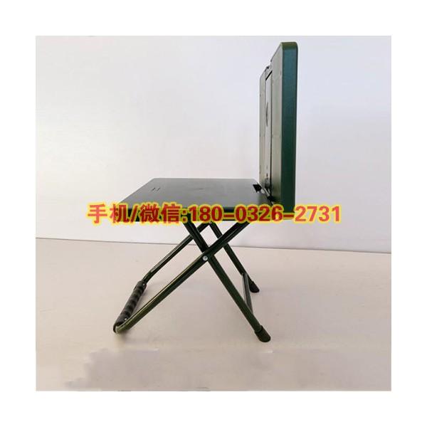 便携式写字椅可折叠学习椅野营折叠椅多功能绿色靠背凳折叠椅子