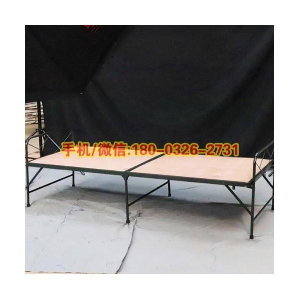 两折木板床折叠陪护床简易午休床便携式野外作业折叠床木板床