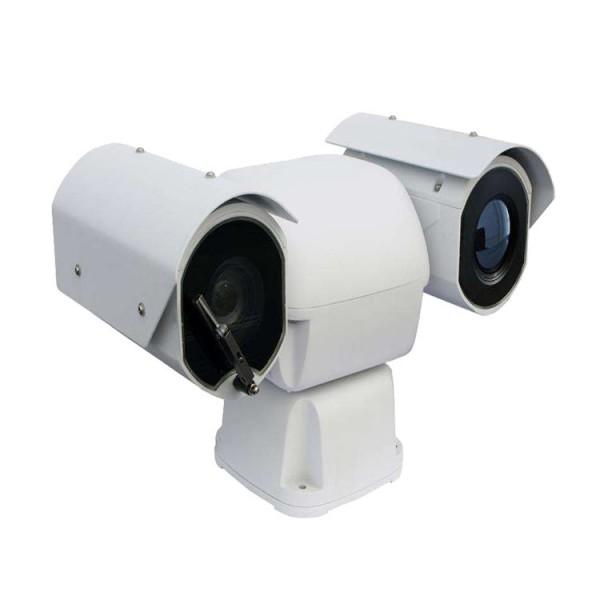 上海市车载双光谱智能摄像机 可见光+热成像一体化云台摄像机