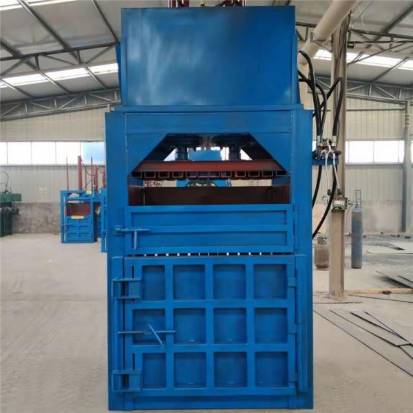 济南纸壳边角料大型立式矿泉水瓶易拉罐压包机厂家供应