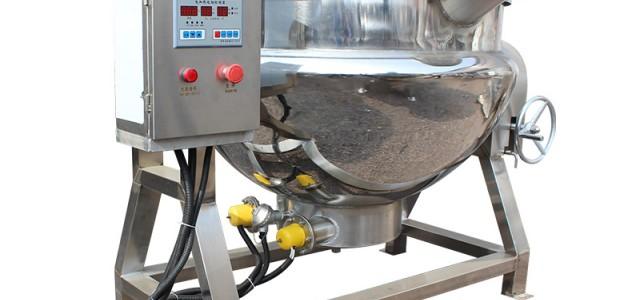 祥云达全自动夹层锅蒸煮锅可定制售后无忧不锈钢制造