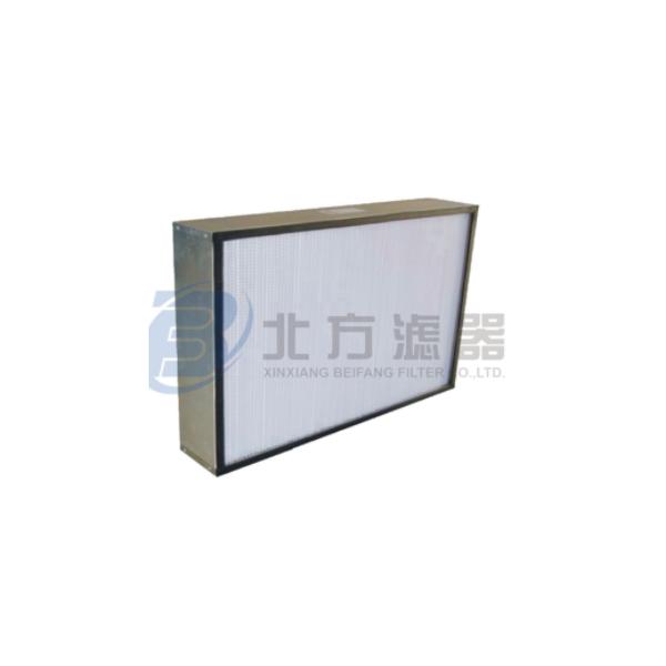 耐高湿高效有隔板空气过滤器