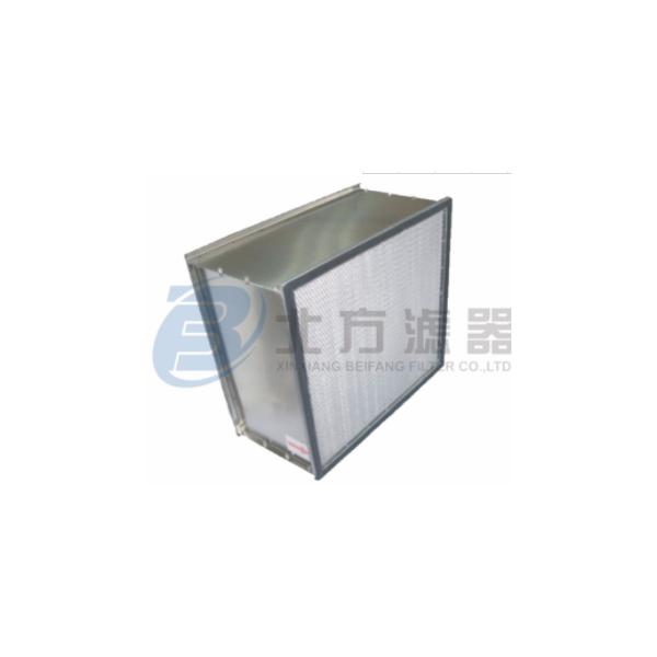 耐高温高效有隔板空气过滤器