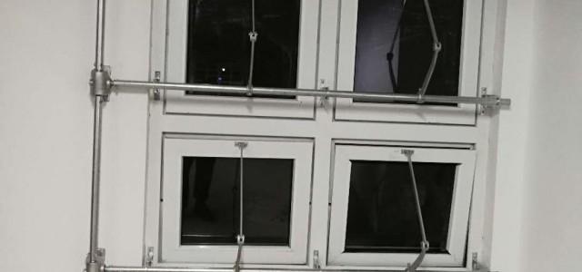 手摇式开窗器 一控六开窗机 消防开窗机