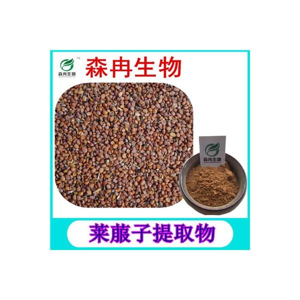 森冉生物 莱菔子提取物 萝卜籽提取物 天然植物提取原料