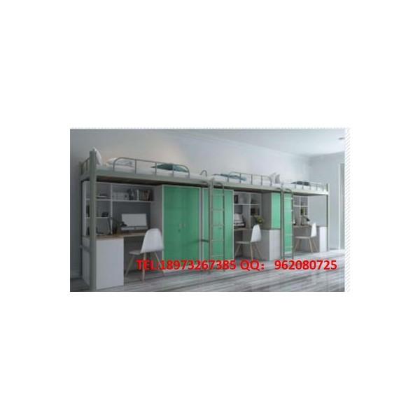 湘潭公寓床 双层铁床 公寓床定制 双层铁床生产厂家湘潭汉风