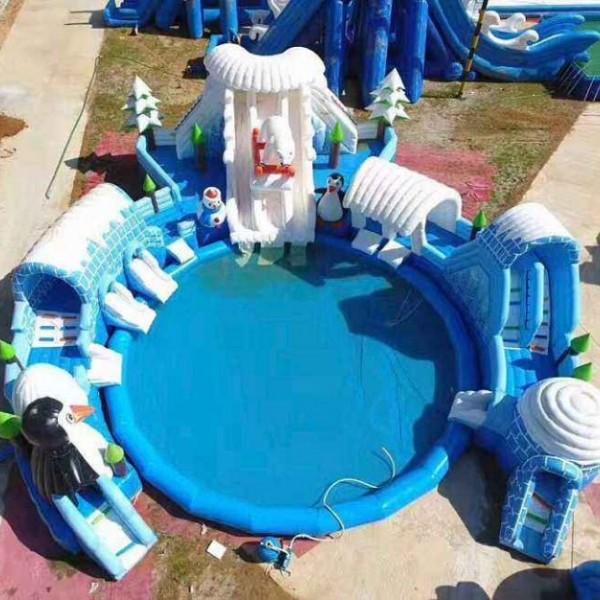 大型水上冲关设备现货出租 水上乐园租赁