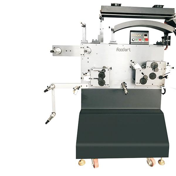 肠衣尼龙带丝带棉带织带不干胶高速卷膜打印机肠衣印字机厂家直供