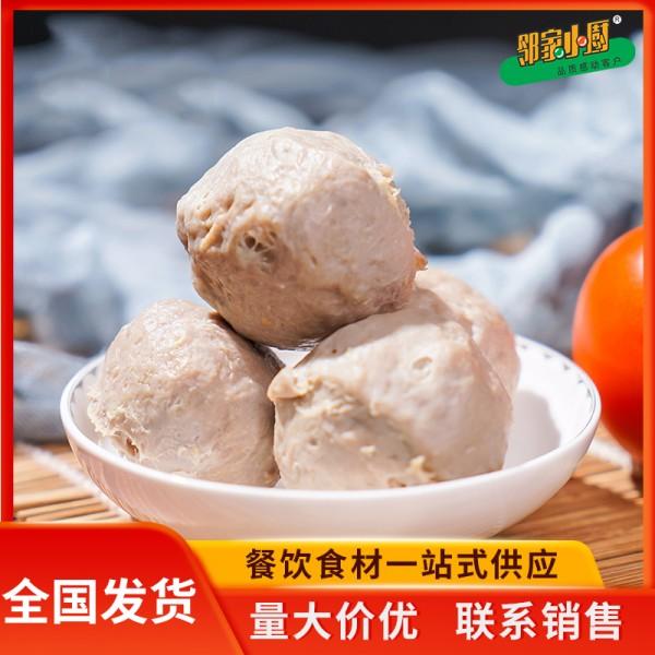 潮汕牛肉丸 关东煮冷冻牛丸供应 麻辣香锅烧烤火锅食材肉丸批发