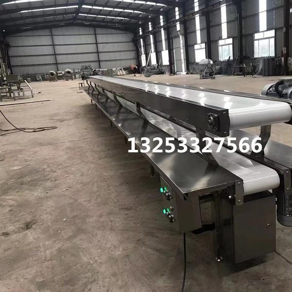 定制食品输送机流水线 不锈钢工作台厂家直销