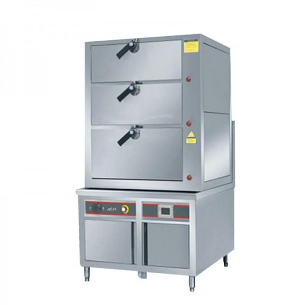 德玛仕电磁海鲜蒸柜三门蒸柜 HW-HZG25C_30C-01