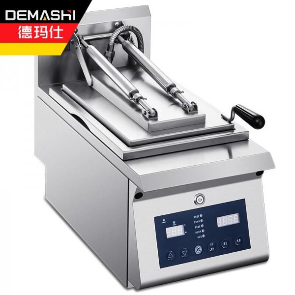 德玛仕全自动煎饺机商用煎饺煎包葱油饼煎扒炉PYJ-01