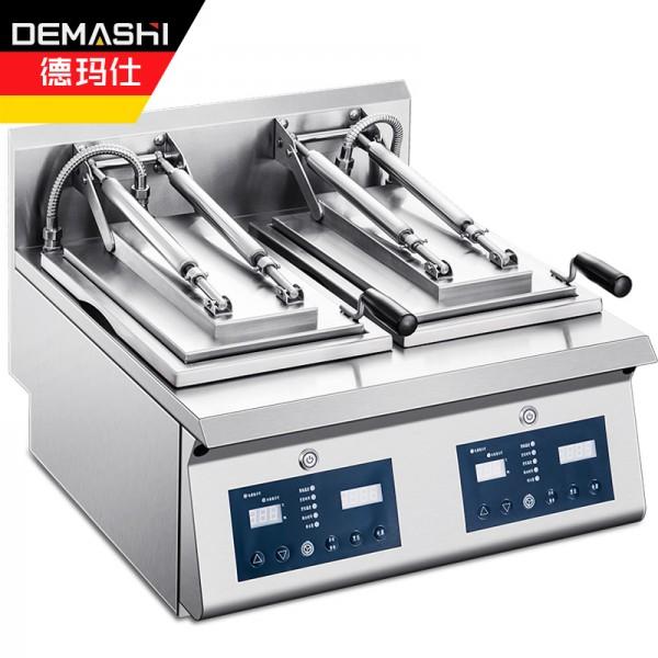 德玛仕 全自动煎饺机商用煎饺煎包葱油饼煎扒炉 PYJ-02