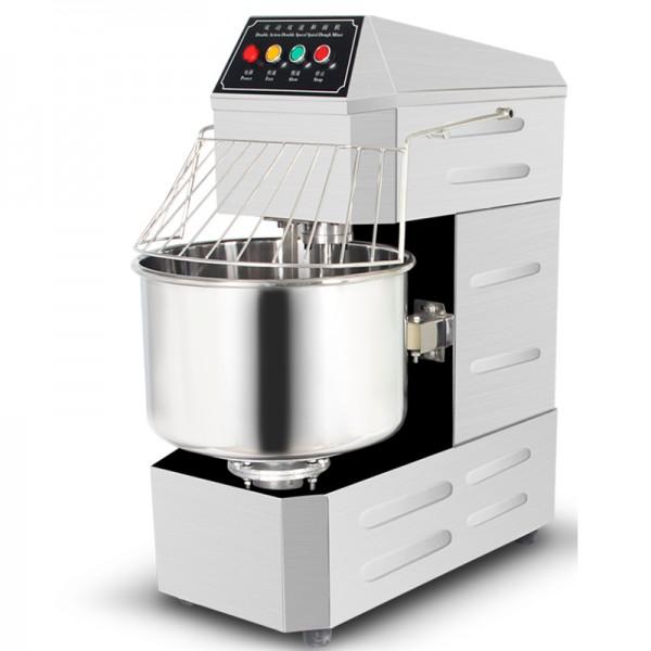 德玛仕商用不锈钢和面机厨师搅拌机双螺旋合面 YF-SD130