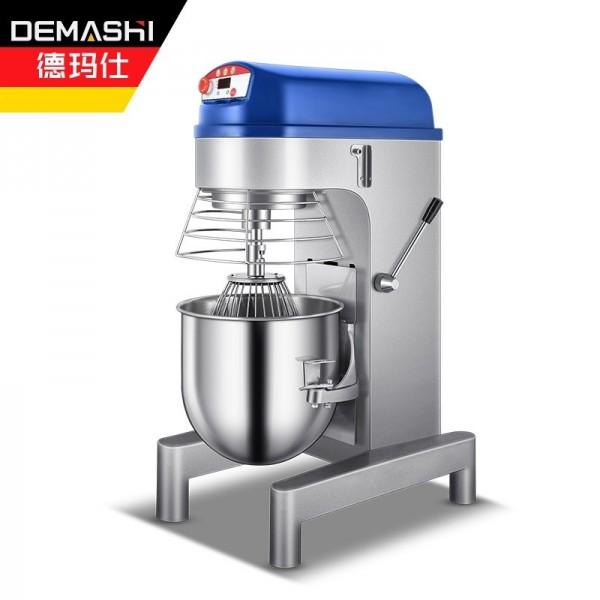 德玛仕商用全自动多功能 搅拌机和面机电动厨师机JB-30A
