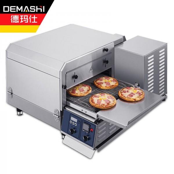 德玛仕全自动履带式披萨炉热风循环商用披萨烤箱NTE-1620