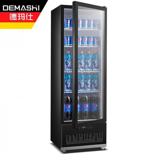 德玛仕冷藏展示柜立式商用冰柜饮料保鲜柜LG-300ZH