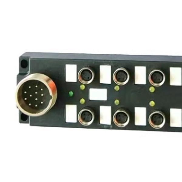 总线I/O分线盒8口8点分体式带M23插座12针
