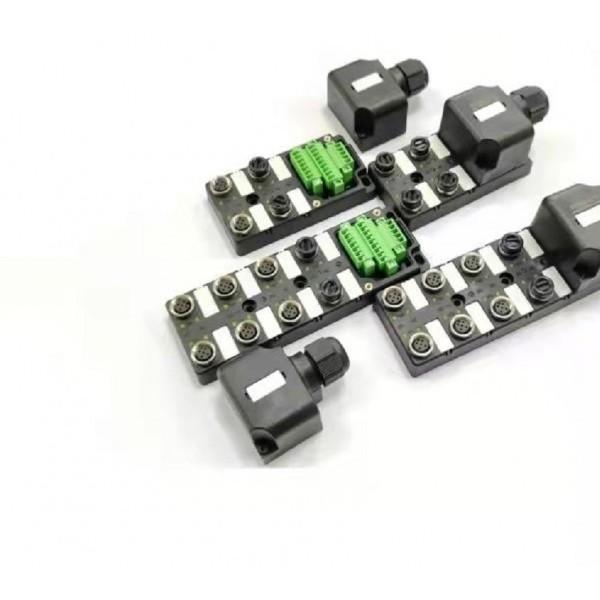 M12 4端口8端口端子式现分线盒场接线型分线盒