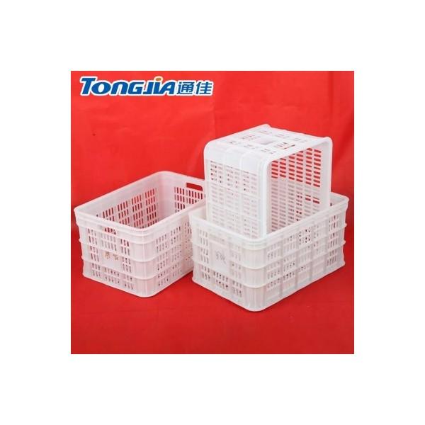 塑料筐设备白色塑料筐注塑机鸡蛋筐农副产品水果筐