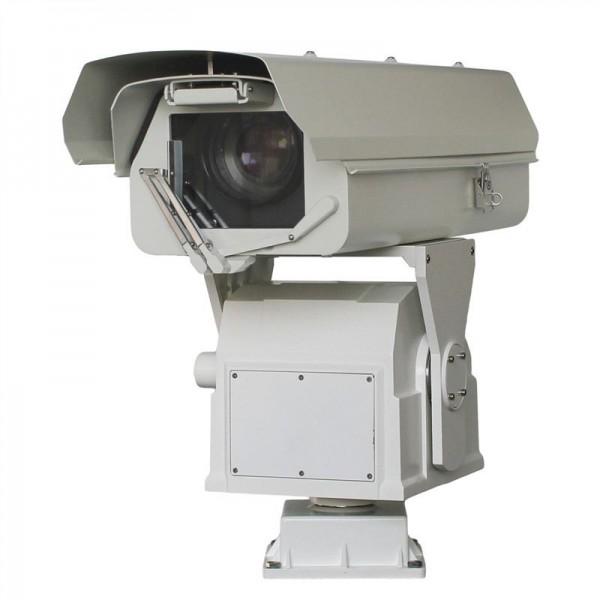 长焦透雾可见光智能云台摄像机_高空瞭望望远式一体化一台摄像机