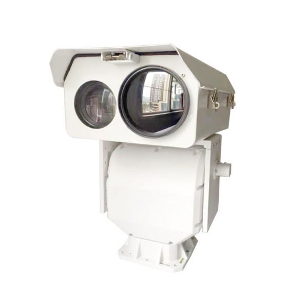 1-5KM高清可见光+红外热成像双光网络一体化云台摄像机