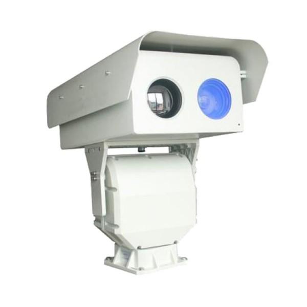 鸡西市中远程可选型可见光+热成像双光谱网络云台摄像机