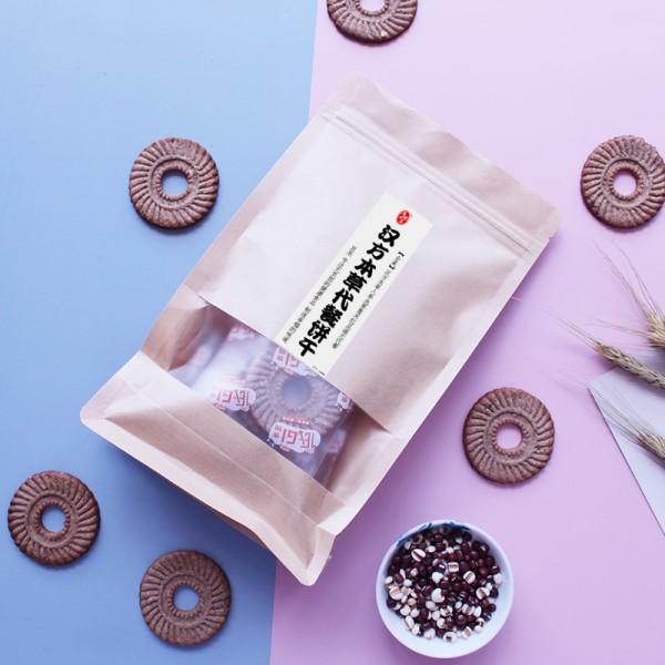 人参蛹虫草红豆薏米代餐营养饱腹饼干 汉方本草饼干燕麦休闲零食