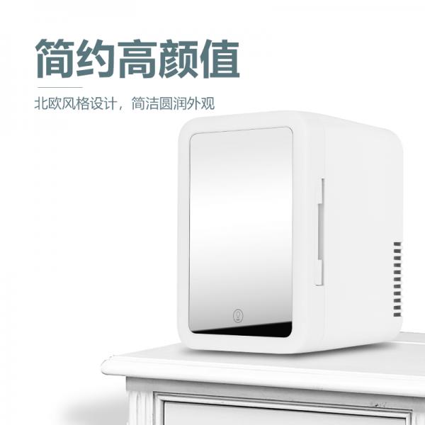 6升美妆冰箱跨境代发小型冷暖冰箱深圳包邮